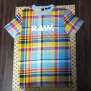 ジースター(G-STAR RAW)の美品G-star Raw マルチカラーTシャツ(Tシャツ/カットソー(半袖/袖なし))