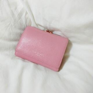 テッドベイカー(TED BAKER)の【Ted Baker】クリスタルミニバブル がま口三つ折財布(財布)