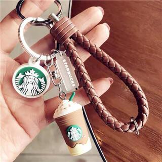 Starbucks Coffee - 【スターバックス海外限定】日本未発売 キーホルダー フラペチーノ 茶色