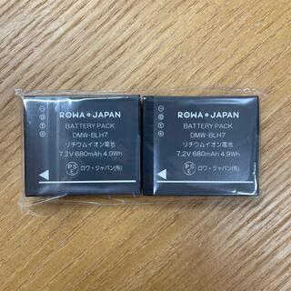 Panasonic - 未使用 ROWA JAPAN バッテリー マイクロフォーサーズ