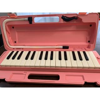 ヤマハ(ヤマハ)の鍵盤ハーモニカ ピアニカ ヤマハ ピンク P-32DP(その他)
