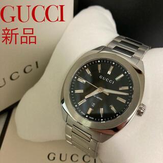 Gucci - 新品 GUCCI グッチ 腕時計 YA142401 ブラック文字盤 人気
