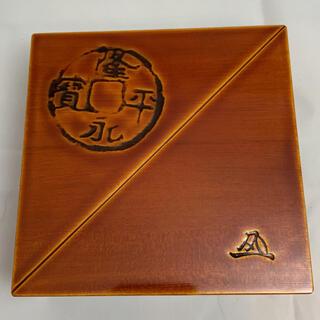 【未使用品】飛騨高山 春慶塗 重箱 一段重ね 伝統工芸(漆芸)