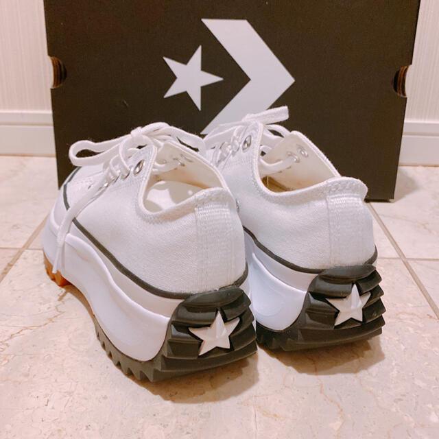 CONVERSE(コンバース)のジミン着コンバースRUN STAR HIKEランスターハイクローカットUS7.5 レディースの靴/シューズ(スニーカー)の商品写真