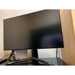 エルジーエレクトロニクス(LG Electronics)のLG 27型 4k 144Hz IPSゲーミングモニター(ディスプレイ)