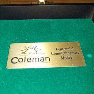 Coleman - 【未使用】Colemanコールマン100周年記念モデル!