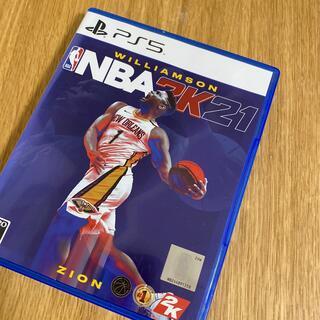 ソニー(SONY)のNBA 2K21 PS5(家庭用ゲームソフト)