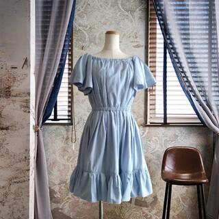 snidel - 新品タグ付❇️SNIDEL❇️お袖&お裾フリル ワンピース