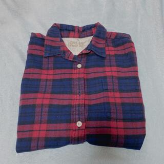 ムジルシリョウヒン(MUJI (無印良品))の無印良品 MUJI チェックシャツ XL(シャツ/ブラウス(長袖/七分))