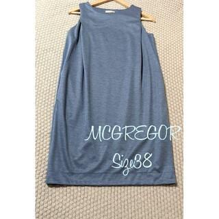 マックレガー(McGREGOR)のMCGREGOR マックレガー 袖なし ワンピース M 38(ひざ丈ワンピース)