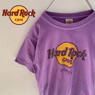 ロックハード(ROCK HARD)の【HardRockCafe】ハードロックカフェ sydney ロゴ入りtシャツ(Tシャツ/カットソー(半袖/袖なし))