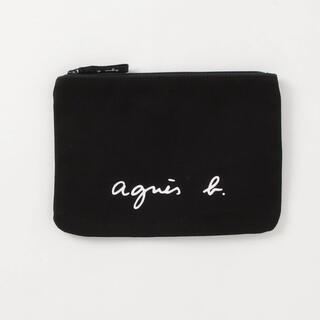 agnes b. - アニエスベー☆ポーチ☆ブラック☆新品未開封☆送料無料