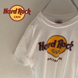 ロックハード(ROCK HARD)の【HardRockCafe】ハードロックカフェ ロゴ入りtシャツ(Tシャツ/カットソー(半袖/袖なし))