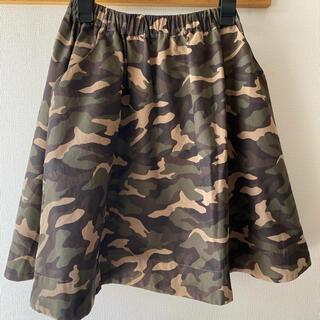 テチチ(Techichi)のルノンキュール 迷彩柄スカート(ひざ丈スカート)
