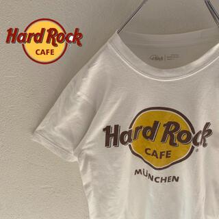 ロックハード(ROCK HARD)の【HardRockCafe】ハードロックカフェ aruba ロゴ入りtシャツ(Tシャツ/カットソー(半袖/袖なし))