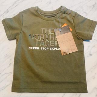 THE NORTH FACE - ★ノースフェイス ベビーカモロゴTシャツ 半袖 80サイズ カーキ★新品