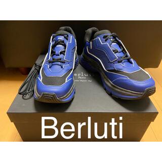 Berluti - 【再値下げ】BERLUTI  レザースニーカー【新品未使用付属品付き】