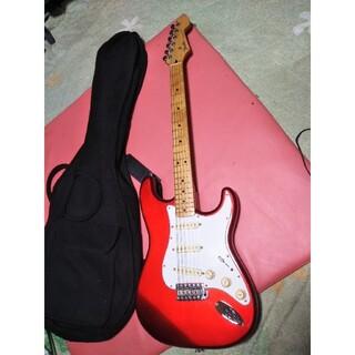 フェンダー(Fender)のフェンダーストラトキャスターST50キャンディアップルレッド(エレキギター)