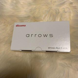 アローズ(arrows)のドコモ arrows Be4 F-41A(スマートフォン本体)