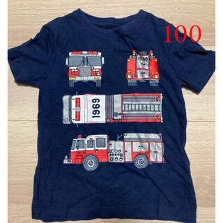 babyGAP - 消防車Tシャツ半袖100