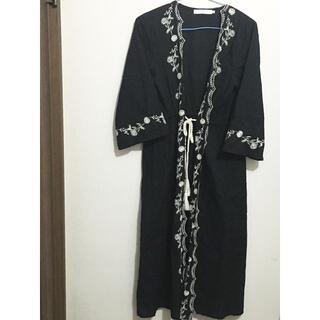 サマンサモスモス(SM2)のサマンサモスモスブルー 羽織り(カーディガン)