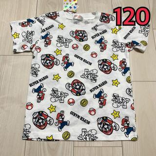 しまむら - 未使用タグ付き マリオ Tシャツ 120