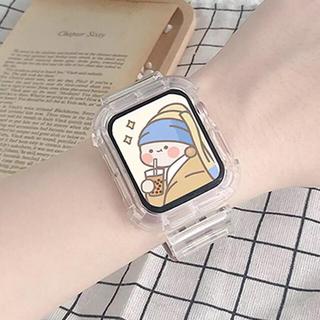 Apple Watch 38/40mm クリアバンド(腕時計)