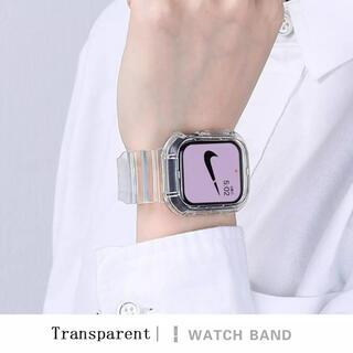 Applewatch 38/40mm クリアバンド(腕時計)
