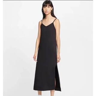 NIKE - NIKE キャミワンピース NSW JEASEY DRESS BLACK