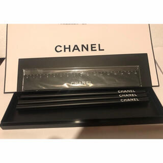 CHANEL - CHANEL シャネル 鉛筆、定規セット ノベルティ