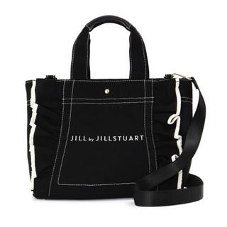 JILL by JILLSTUART - 【新品】JILL by JILLSTUART フリルトート ブラック BRK