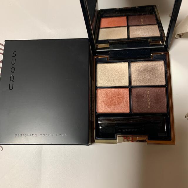 SUQQU(スック)のスック  デザイニングカラーアイズ 02 光燈花 美品 コスメ/美容のベースメイク/化粧品(アイシャドウ)の商品写真