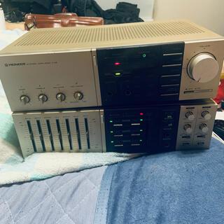パイオニア(Pioneer)の良音 Pioneer アンプ A-X5&イコライザー CA-X7(アンプ)