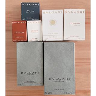BVLGARI - ブルガリ 香水 7点セットまとめ売り