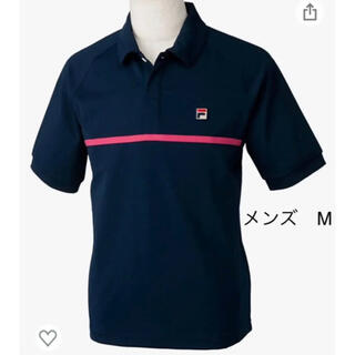 フィラ(FILA)のフィラ ゲームポロシャツ 紺 M(ウェア)