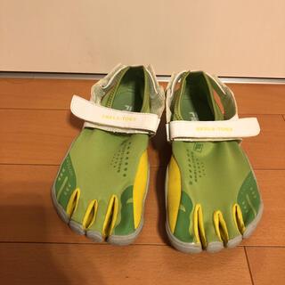フィラ(FILA)のFILA サンダル skele-Toes 緑(サンダル)