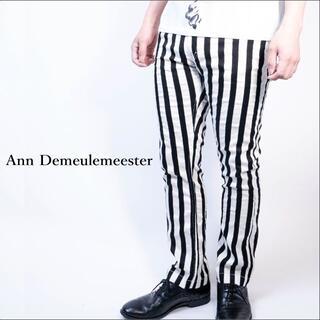アンドゥムルメステール(Ann Demeulemeester)のAnn Demeulemeester/アンドゥムルメステール ストライプパンツ(スラックス)