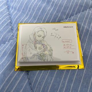 集英社 - 鬼滅の刃無限列車編 煉獄杏寿郎原画コレクションスクエア缶バッジA