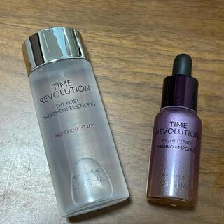 ミシャ(MISSHA)のMISSHA ミシャ タイムレボリューション化粧水&アンプルセット(サンプル/トライアルキット)