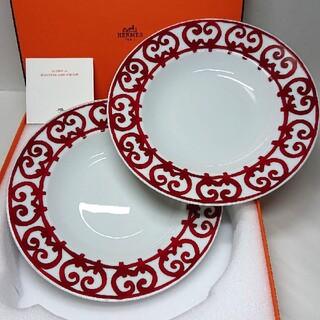 Hermes - エルメス (HERMES) ガダルキヴィール スープ 深皿 (22cm)×2枚!