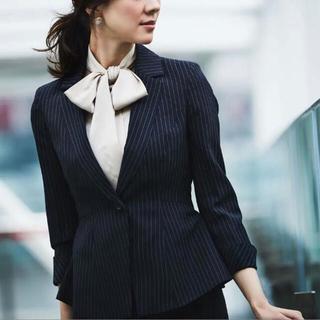 スーツカンパニー(THE SUIT COMPANY)のruirue boutique スーツセット 黒ストライプM (スーツ)