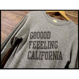 スタンダードカリフォルニア(STANDARD CALIFORNIA)のスタンダードカリフォルニア 加工 七分袖 ラグラン Tシャツ 霜降り グレー S(Tシャツ/カットソー(七分/長袖))