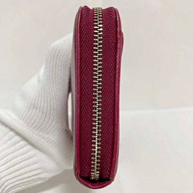 Paul Smith(ポールスミス)の【高級】Paul Smith ポールスミス   長財布 レザー ハートファスナー レディースのファッション小物(財布)の商品写真