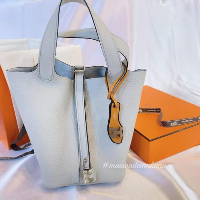 Hermes(エルメス)の新品♡エルメス ピコタン PM ブルーペール ピコタンロック HERMES レディースのバッグ(ハンドバッグ)の商品写真
