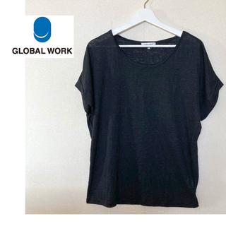 GLOBAL WORK - 新品未使用品!グローバルワーク*リネン100% トップス
