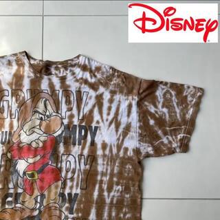Disney - 今夏! おこりんぼ ディズニー タイダイTシャツ