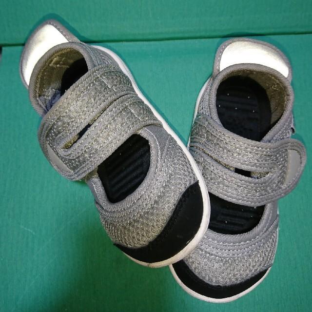 BREEZE(ブリーズ)の新品未使用BREEZE IFME(イフミー)コラボ水抜きベルクロサンダル14cm キッズ/ベビー/マタニティのベビー靴/シューズ(~14cm)(サンダル)の商品写真