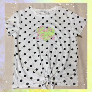 H&M - ドットおしゃれTシャツ