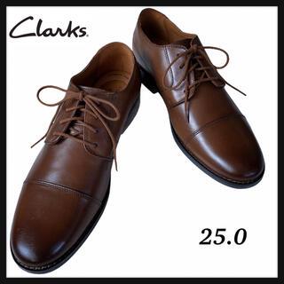 クラークス(Clarks)の《新品》Clarksクラークス ビジネスシューズ 革靴 25.0(ドレス/ビジネス)