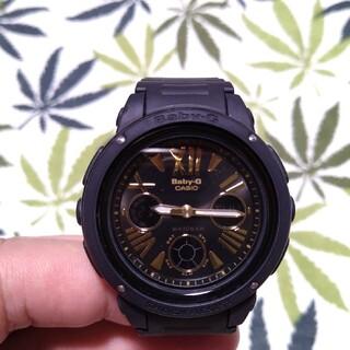 ベビージー(Baby-G)のCASIO Baby-G bga-153 ジーショック ブラック(腕時計)